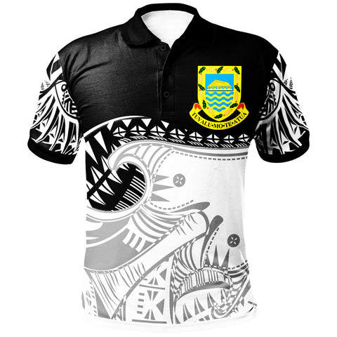 Image of Tuvalu Polynesian Custom Personalised Polo Shirt - Dynamic Sport Style - BN20