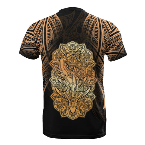 Image of Wild Shark Polynesian T-Shirt - BN39