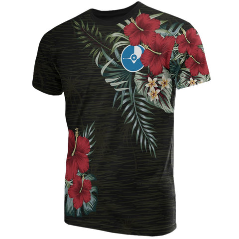 Yap Hibiscus T-Shirt Front