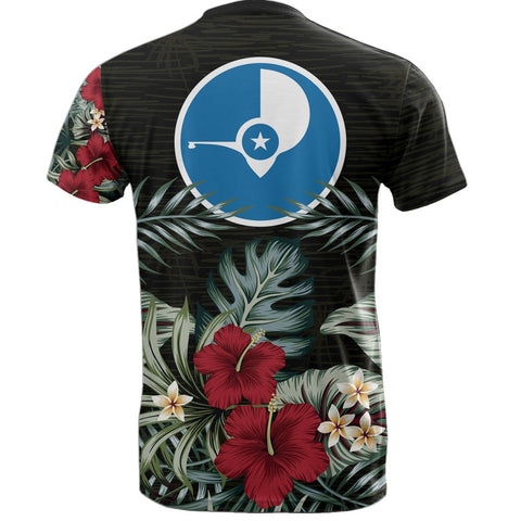 Image of Yap Hibiscus T-Shirt Back