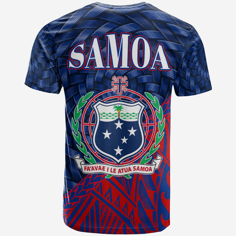 Image of Samoa T-Shirt - Vaiusu Tapa Patterns With Bamboo