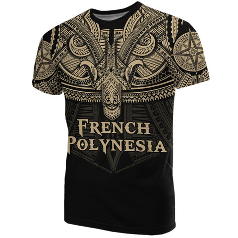 Image of Best French Polynesia - Polynesian Tattoo T-Shirt A7 1ST