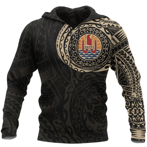 Image of Tahiti In My Heart Polynesian Hoodie Front