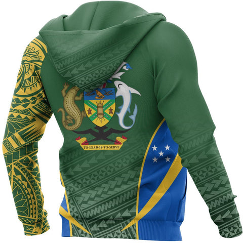 Solomon Islands Special Hoodie - Solomon Islands Coat Of Arms A7