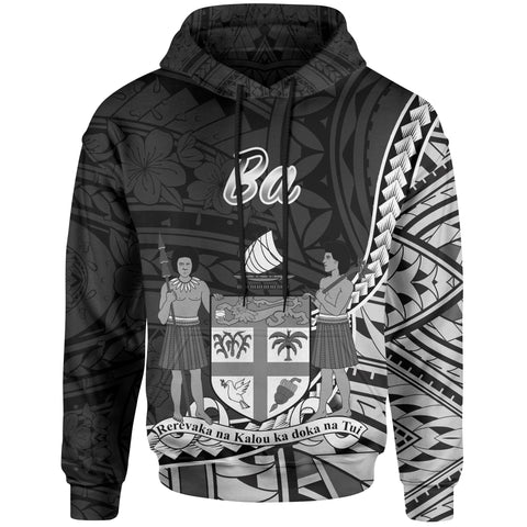 Image of Fiji Hoodie - Ba Seal Of Fiji Polynesian Patterns