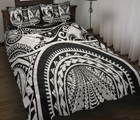 Polynesian Quilt Bed Sets - Maui Tattoo - BN17
