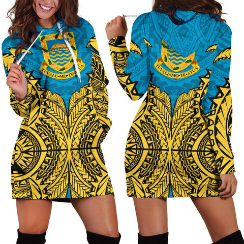 Image of Tuvalu Premium Hoodie Dress A7