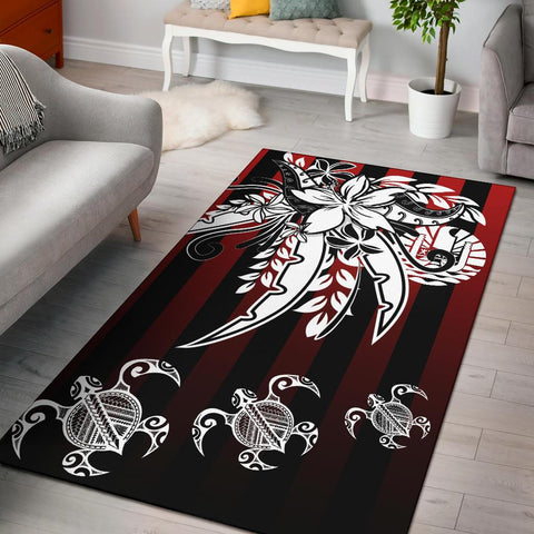 Tahiti Area Rug - Vertical Stripes Style - BN20