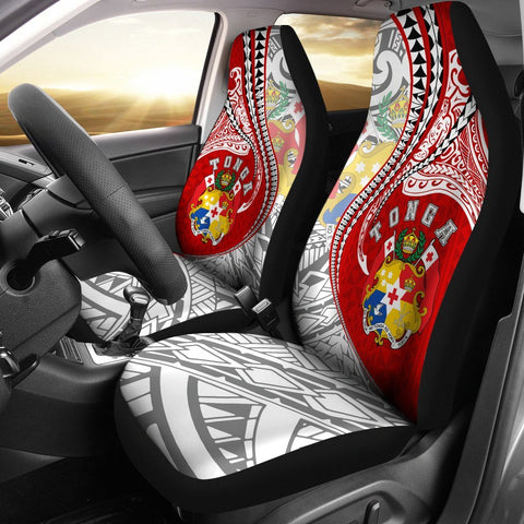 Image of Tonga Car Seat Covers Kanaloa Tatau Gen TO
