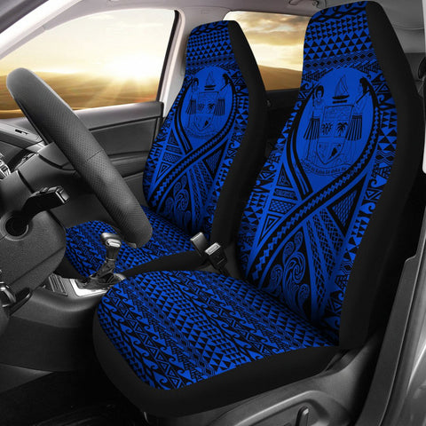 Fiji Car Seat Cover Lift Up Blue