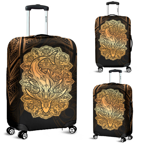 Wild Shark Polynesian Luggage Covers - BN39