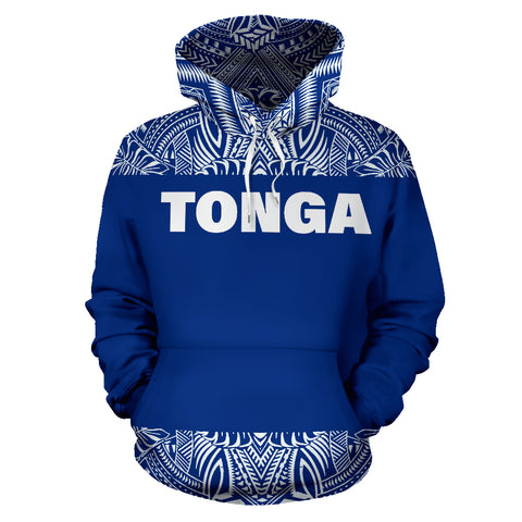 Tonga All Over Hoodie - Polynesian Hoodie Version