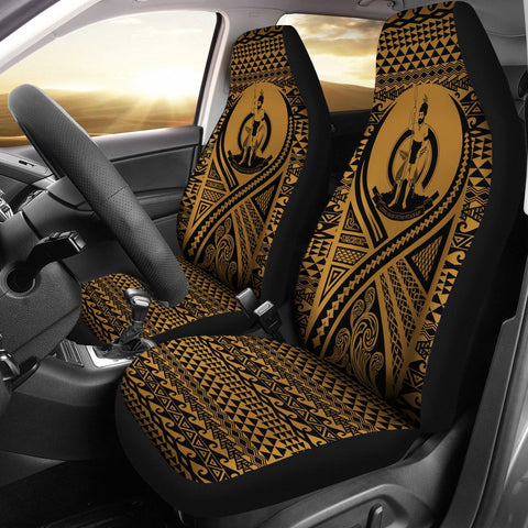 Vanuatu Car Seat Cover Lift Up Gold