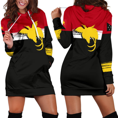 Image of Papua New Guinea Special Hoodie Dress A7