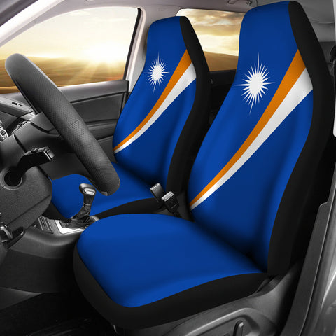 Marshall Islands Car Seat Covers - Original Flag - BN04