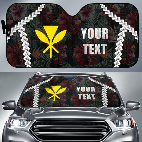 Hawaii Custom Personalised Auto Sun Shades - Chain Polynesian
