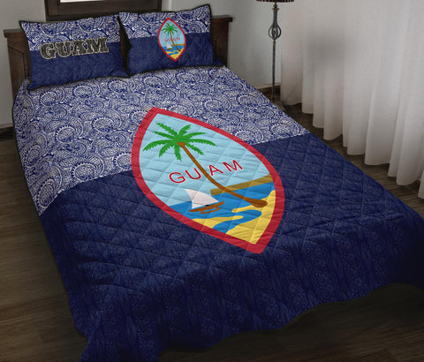 Image of Guam Quilt Bed Set - Polynesian Design - BN12