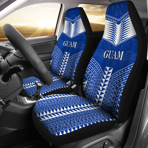 Guam Polynesia Car Seat Covers