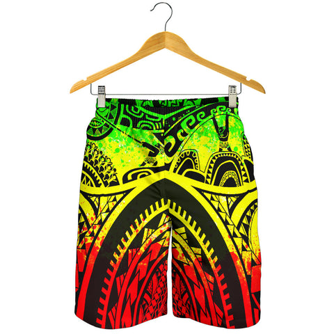 Polynesian Men's Shorts, Maui Tattoo Polynesian Patterns (Reggae) - BN17
