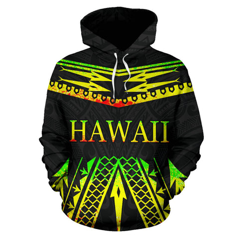 Image of Hawaii Polynesia All Over Hoodie - BN12