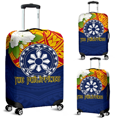 The Philippines Luggage Covers - Filipino Sampaguita