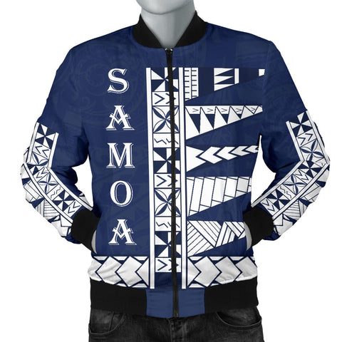 Image of Samoa Polynesian Men's Bomber Jacket