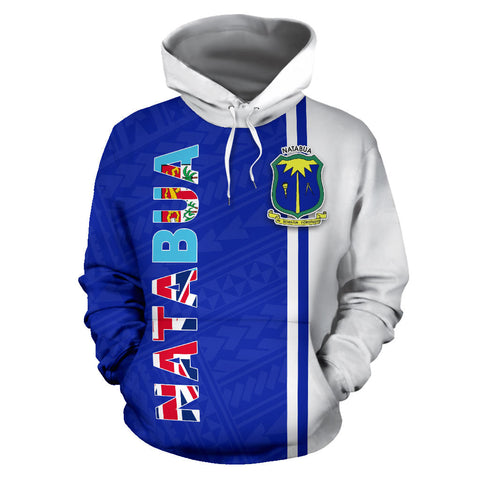Natabua Fiji Flag All Over Hoodie - BN412