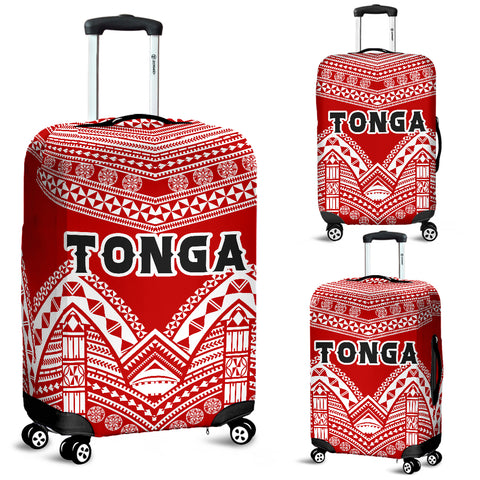 Image of Tonga Polynesian Tribal Pattern Luggage Covers