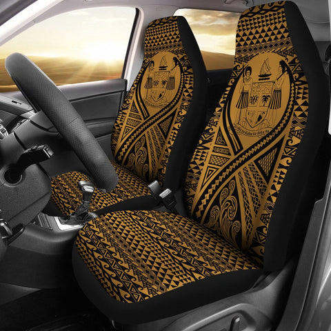 Fiji Car Seat Cover Lift Up Gold
