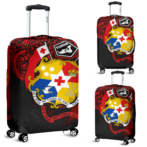 Image of Tonga Polynesian Luggage Covers - Tongan Pride
