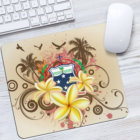 Samoa Polynesian Mouse Pad - Summer Tropical - BN12