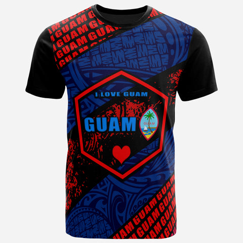Image of Guam T-Shirt - I Love Guam - BN39