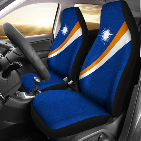 Marshall Islands Car Seat Covers - Micronesia Style