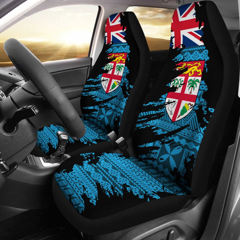 Fiji  Painting Car Seat Cover