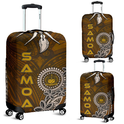 Image of Samoa Luggage Covers - Polynesian Boar Tusk - BN39