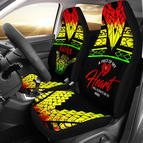 Hawaii Car Seat Covers - A Piece Of My Heart - BN20
