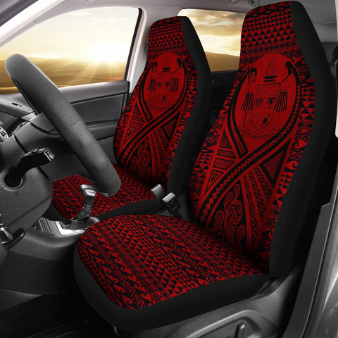 Fiji Car Seat Cover Lift Up Red