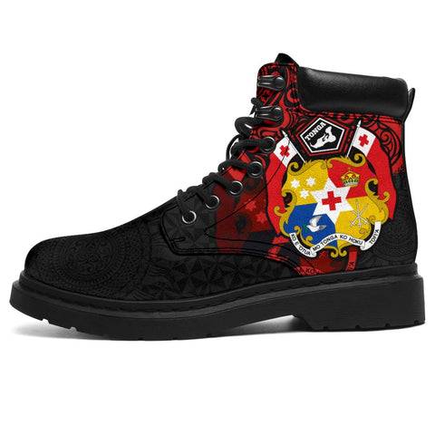 Image of Tonga Polynesian Boots (All-season) - Tongan Pride