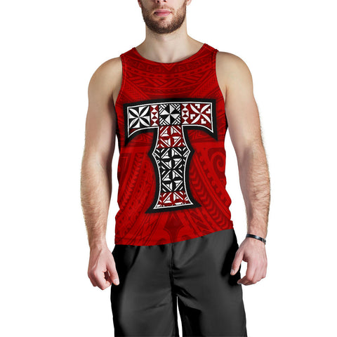 Tonga Men's Tank Top - Polynesian Peak - BN11