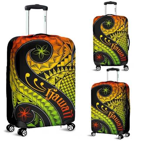 Image of Hawaii Luggage Covers - Hawaii Polynesian Decorative Patterns
