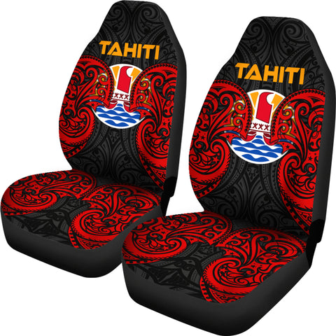 Image of Tahiti Polynesian Car Seat Covers - Tahitians Spirit - BN12