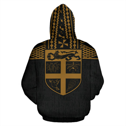 Image of Fiji Polynesian Zip-Up Hoodie, Fiji clothing, Polynesian Zip-Up Hoodie