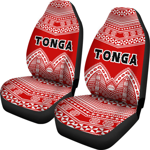 Image of Tonga Polynesian Tribal Pattern Car Seat Covers - BN12