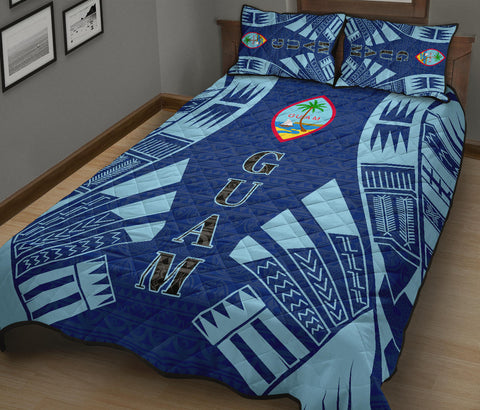 Guam Quilt Bed Set - Tattoo Style - BN12