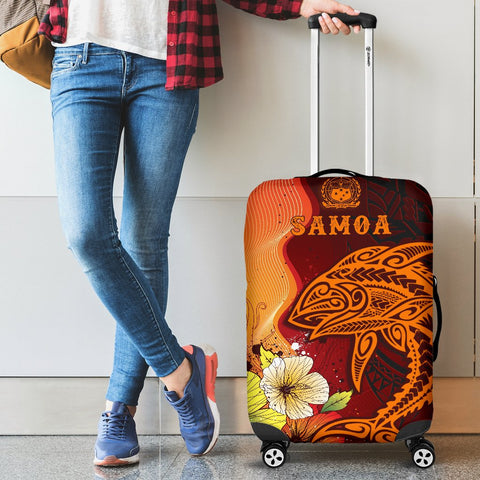 Image of Samoa Luggage Covers - Tribal Tuna Fish - BN39