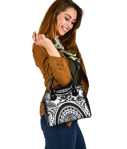 Image of Polynesian Shoulder handbag - Maui Tattoo - BN17