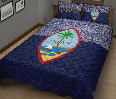 Guam Quilt Bed Set - Polynesian Design - BN12