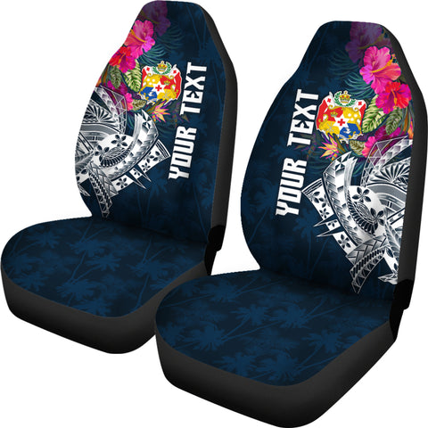 Tonga Custom Personalised Car Seat Covers - Summer Vibes