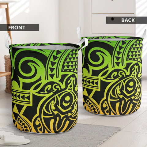 Image of Polynesian Laundry Basket - Poly 52