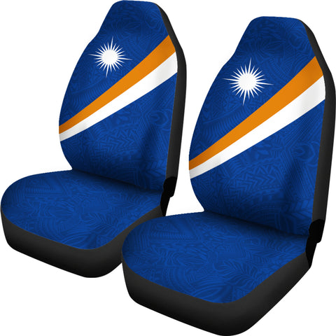 Marshall Islands Car Seat Covers - Micronesia Style - BN01